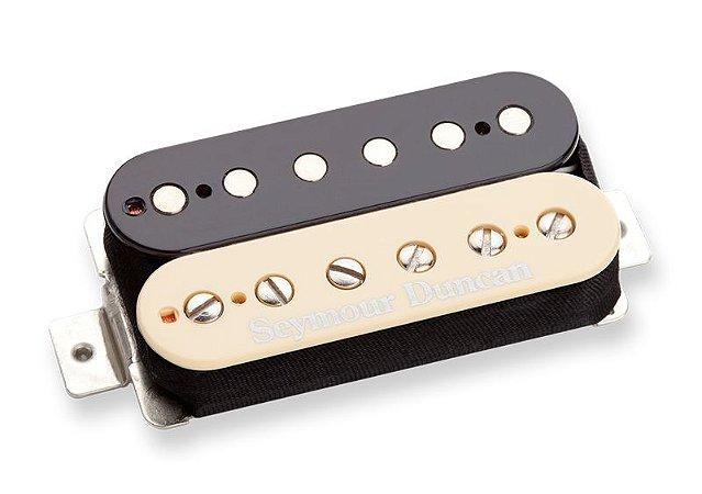 Captador Guitarra SH-16 59 Custom Hybrid, 4 Condutores, Ponte, Zebra