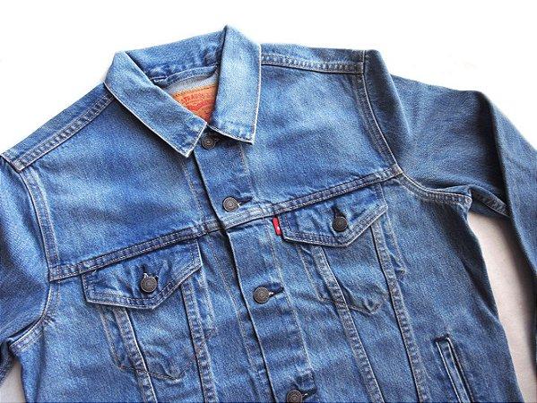 Jaqueta Levis Jeans Masculina Trucker Algodao Original