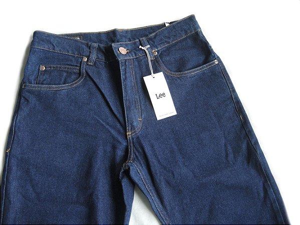 Calça Jeans Lee Chicago Masculina Tradicional Stone Escura 1004