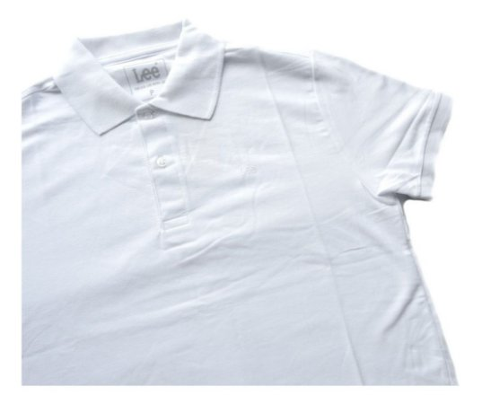 Camisa Polo Masculina Lee Original Piquet