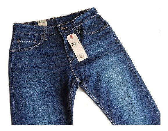 Calça Jeans Levis 505 Original Tradicional Elastano
