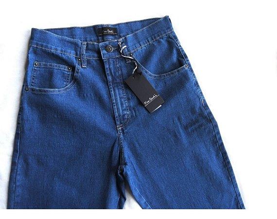 Calça Jeans Masculina Pierre Cardin Tradicional Elastano 237