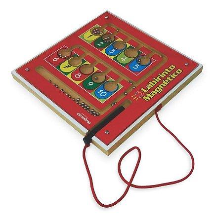 Labirinto Magnetico Educativo Coordenação Motora Carimbras 3 ANos