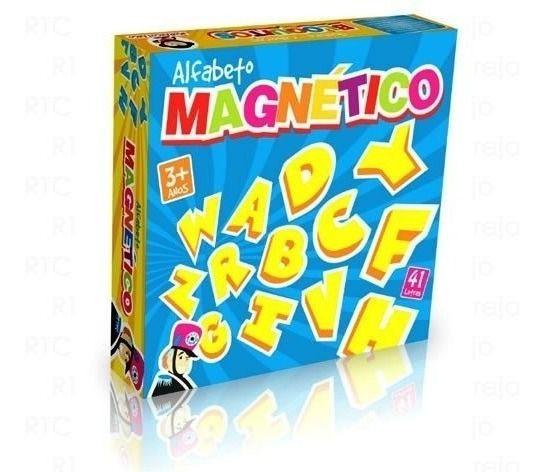 Letras Em Eva Magneticas 41 Letras Conceito Basico +3 ANos