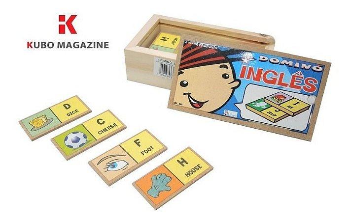 Domino Educativo Jogo Alfabetizaçao Em Ingles Idiomas Simque