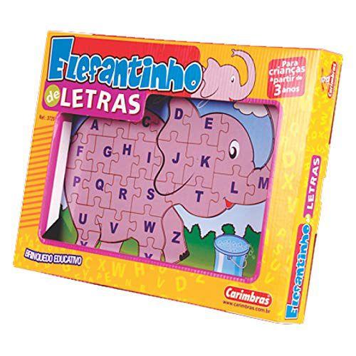 Elefantinho de Letras - Carimbras REF 3720