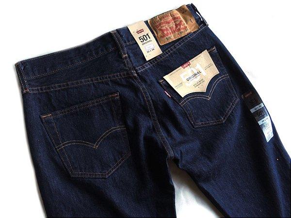Calça Jeans Levis Masculina 501 Tradicional 100% Algodao 115