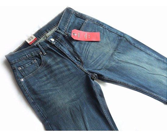 Calça Jeans Levis 505 Masculina Tradicional com Elastano 64