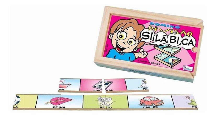 Domino Educativo Divisao Silabica Jogo Educativo Simque
