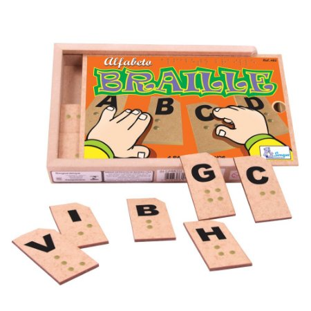 Alfabeto Braille de Madeira Simque