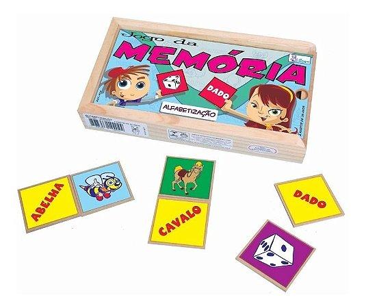 Jogo Da Memória De Alfabetização Educativo Pedagogico Simque