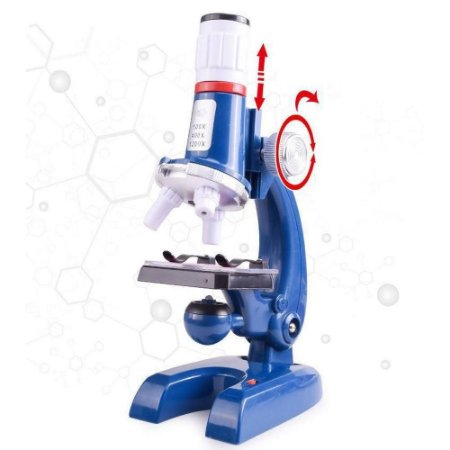 Microscopio Infantil Brinquedo Educativo Pedagogico Laboratorio +8 Anos