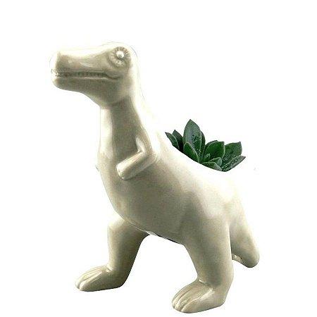 Cachepot Cerâmica Animais Dinossauro Allosaurus Rex