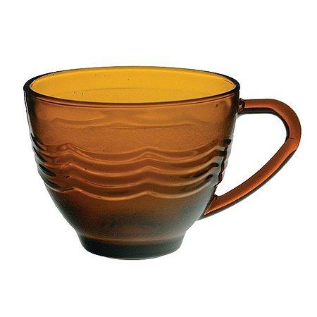 Xícara De Chá Em Vidro 240 Ml Octo Amber