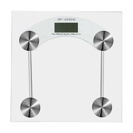 Balança Corporal Digital Vidro Temperado até 180 Kg