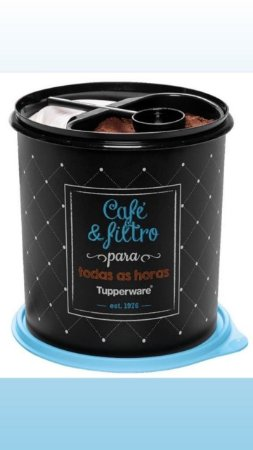 TUPPERWARE CAIXA CAFÉ & FILTRO BISTRÔ