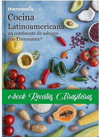 LIVRO THERMOMIX COCINA LATINOAMERICANA - RECEBA GRATIS UM E.BOOK