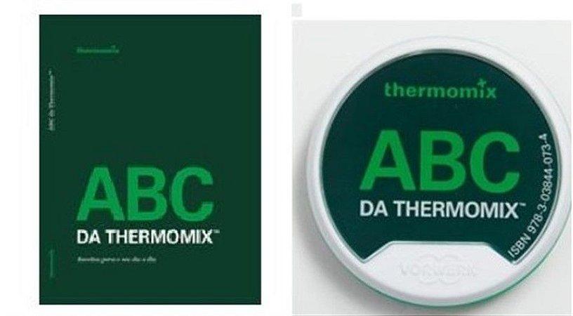 COMBO LIVRO E CHAVE DE RECEITAS ABC THERMOMIX TM 5