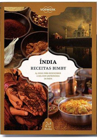 LIVRO DE RECEITAS BIMBY INDIA