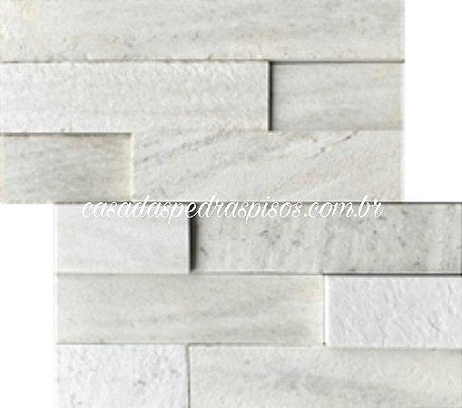 Mosaico Aliance São Tomé branca telado 30x30