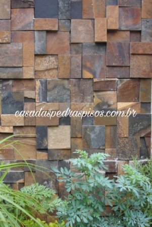 Pedra Ferro 3 tamanhos : 10x10 - 10x20 - 20x20 mosaico 3D
