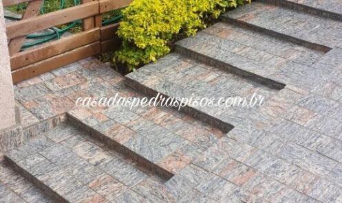 Pedra madeira rosada 11,5 x 23 (tipo Miracema)