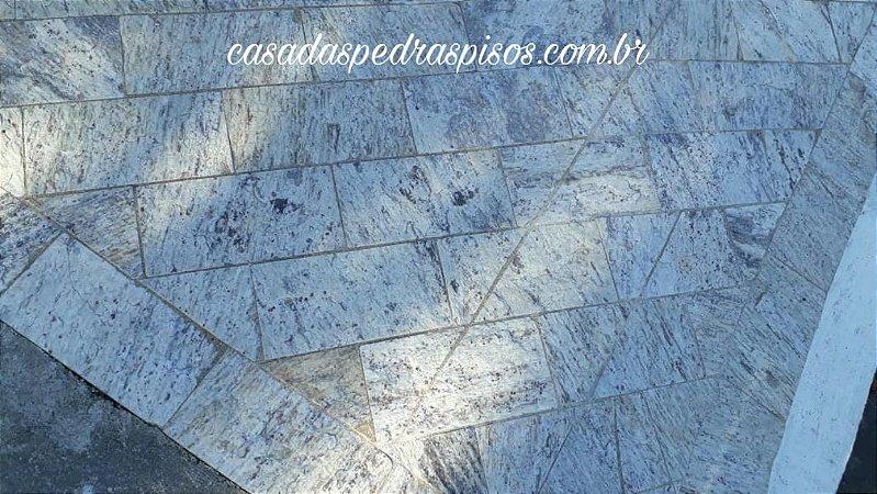 Pedra Madeira branca codorna 11,5x23 (tipo Miracema)