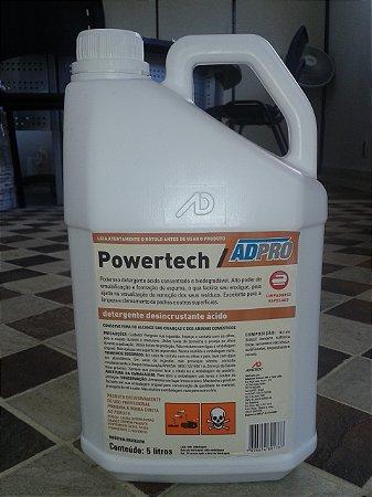 Powertech galão 5 litros limpa pedras