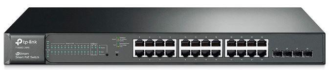 Switch 24 Portas 10/100/1000 Poe E 4 Sfp T1600g-28ps