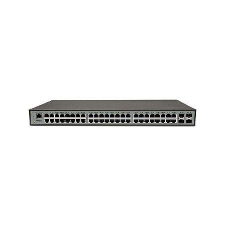 Switch 48 Portas 10/100/1000 + 4 Sfp Sg 5204 Mr L2+