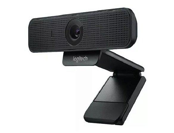 WEB CAM USB Full HD 1080p C925e com Microfone Preto Logitech
