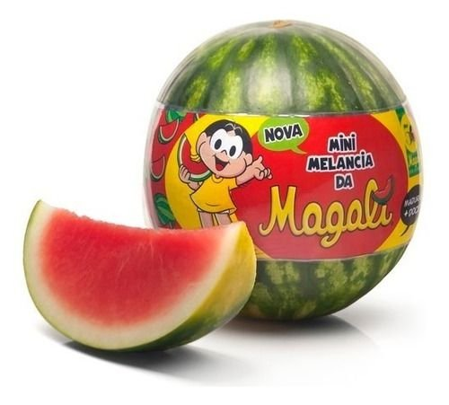 Melancia Magali sem semente aproximadamente 3 kg