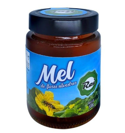 Mel de Abelha Rei Flores Silvestres 500G