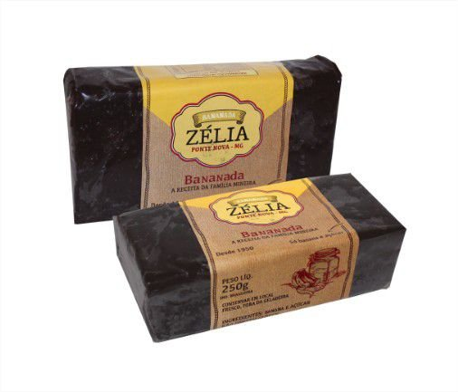 Bananada Zélia tablete - 250g