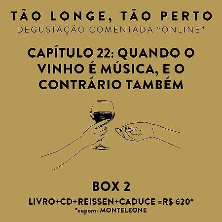 Box 2 - Degustações on-line 30/04 - Quando o Vinho é música, e o contrário também