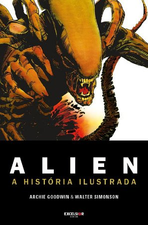 Alien - graphic novel - história original ilustrada