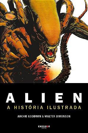 Alien - graphic novel - história original ilustrada
