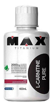 L-Carnitina 400 ml - Max Titanium