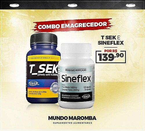 COMBO EMAGRECEDOR 1 TSEK + SINEFLEX