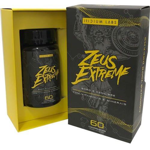 ZEUS EXTREME - 60 TABS - IRIDIUM LABS