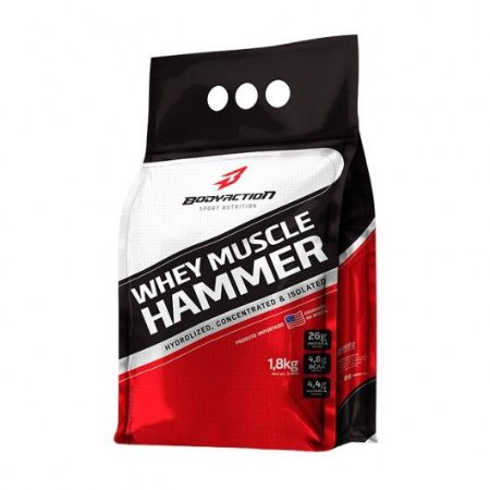 WHEY MUSCLE HAMMER BODY ACTION -900G/1.8KG