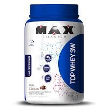 Whey Protein Top Whey 3W Mais Performance 900 g - Max Titanium