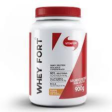 Whey Fort 900g Vitafor Proteina Isolado/concentrado