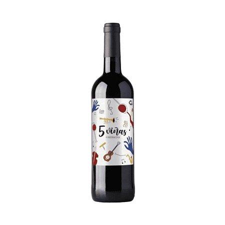 Vinho Cinco Vinas Garnacha 2019 750ml