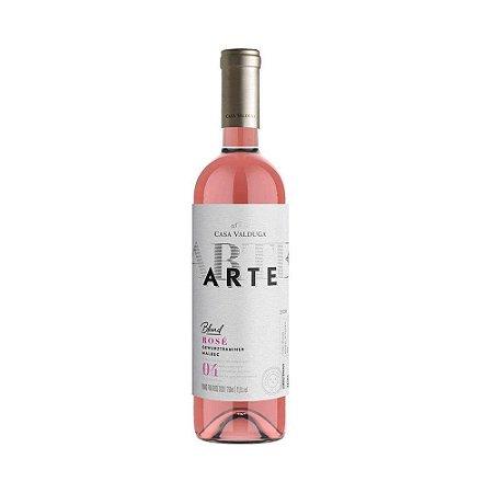Vinho Casa Valduga Arte Blend Rosé Gewurztraminer Malbec 750ml