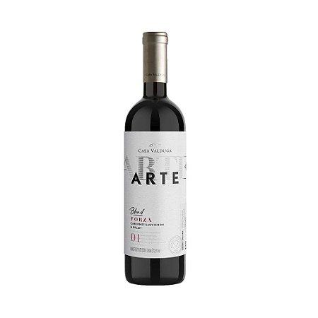 Vinho Casa Valduga Arte Blend Forza Cabernet Sauvignon Merlot 750ml