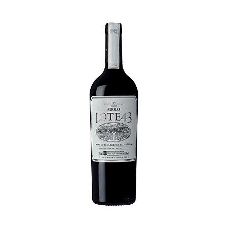 Vinho Miolo Lote 43 Merlot & Cabernet Sauvignon 750ml