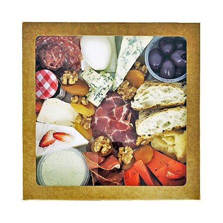 Platter / Caixa de Frios Média para até 04 pessoas - Pedidos até 12h00 serão entregues no mesmo dia