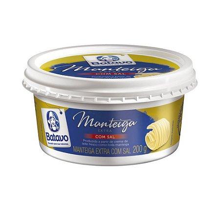 Manteiga Extra com Sal Batavo Pote 200g