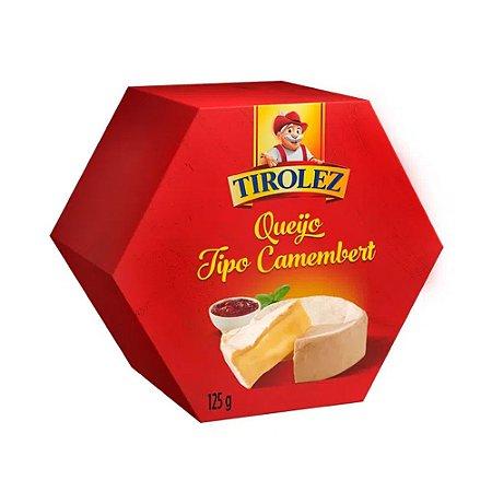 Queijo Camembert Tirolez 125g